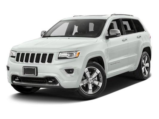 2016 Jeep Grand Cherokee Overland >> 2016 Jeep Grand Cherokee Overland